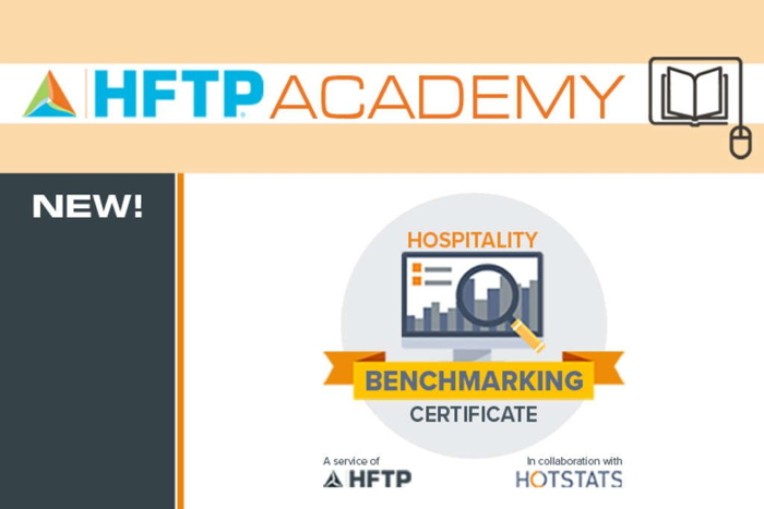Hospitality Benchmarking Certificate - Poster