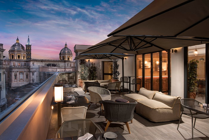 DoubleTree by Hilton Rome Monti - Rooftop Bar