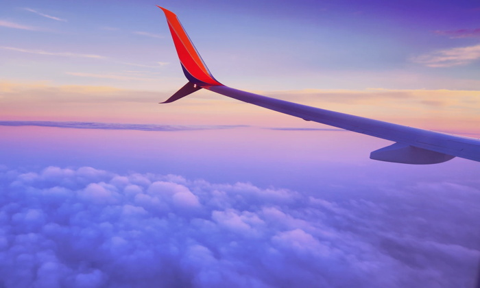 An airplane wing - Unsplash louis magnotti