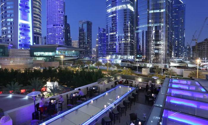 Healey's Bar and Terrcae at the Bonnington Hotel, Dubai