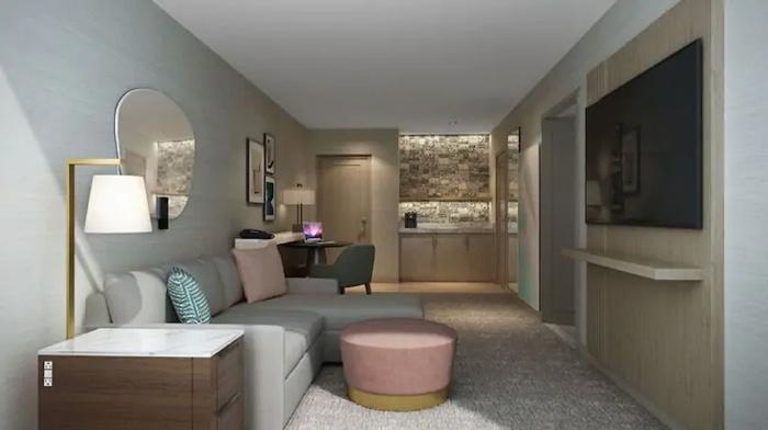 Suite at the Hilton Santa Monica Hotel & Suites