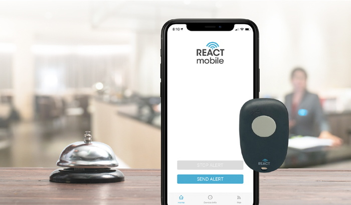 React Mobile on a cell phone