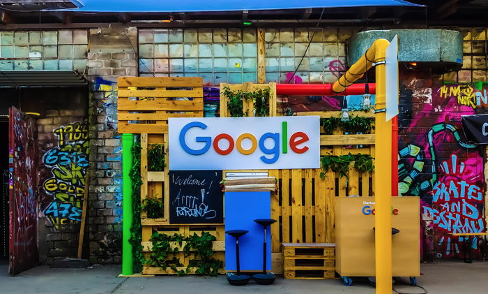 Google stall at an event in Germany - Unsplash Rajeshwar Bachu