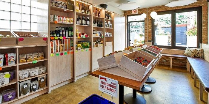Daisies store interior