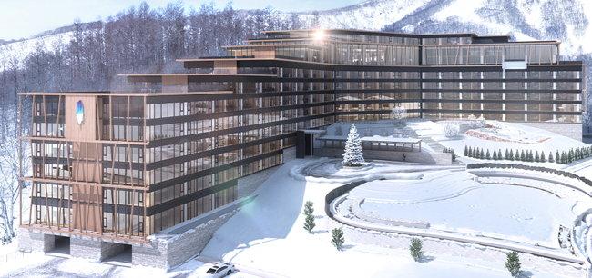New World La Plume Niseko Resort - Exterior