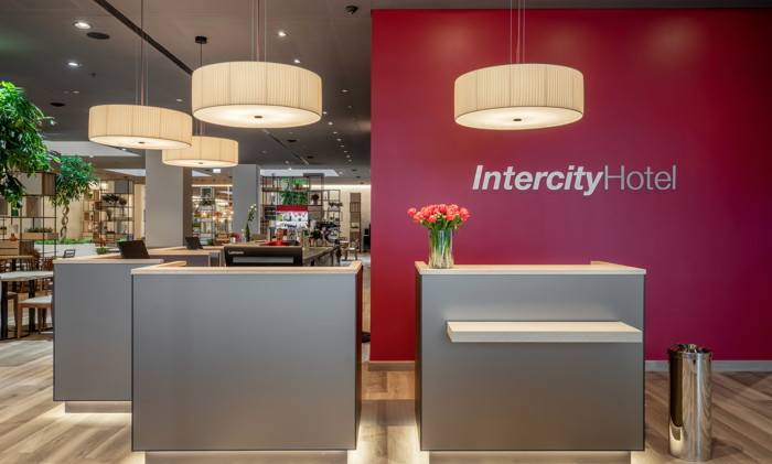 IntercityHotel Budapest - Reception