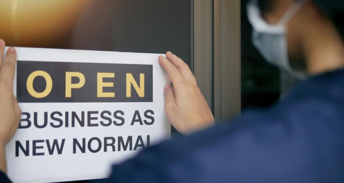 An 'Open' sign - Source National Retail Federation