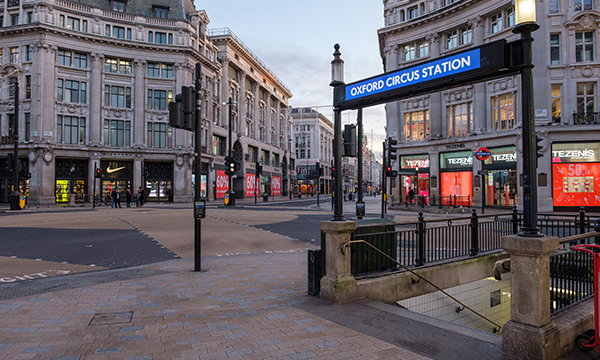 Oxford Circus - Source WTTC