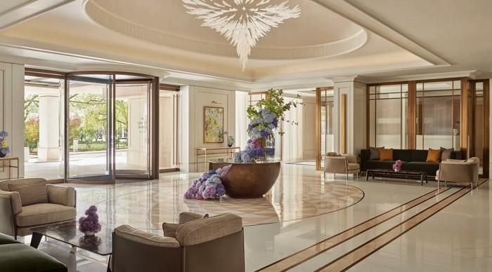 Lobby at the Carlton Tower Jumeirah Hotel