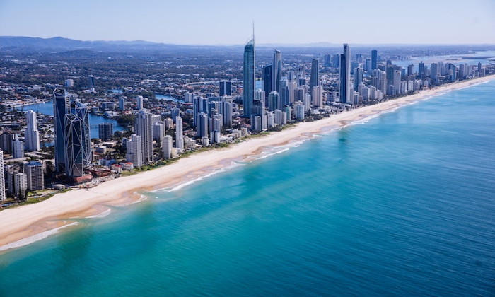 Australia's Gold Coast - Source OTA Insights