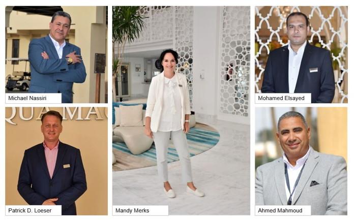 Mandy Merks, Michael Nassiri, Patric D. Loeser, Mohamed Elsayed and Ahmed Mahmoud
