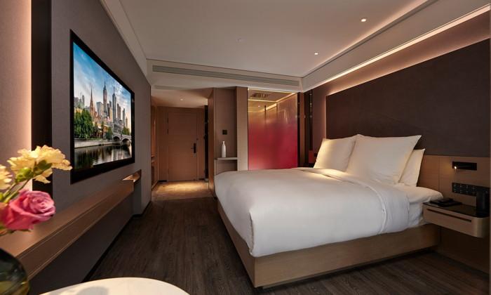 Guestroom at the IntercityHotel Yangzhou Slender West Lake