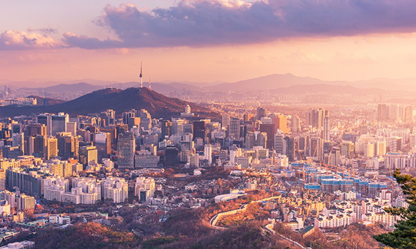 Aerial view of Seoul - Source WTTC