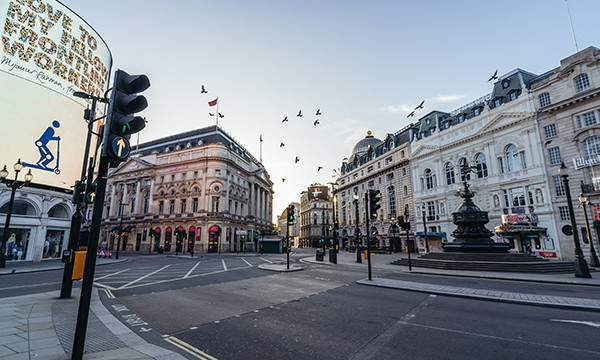 A square in London - Source WTTC