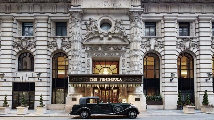 The Peninsula New York - Entrance