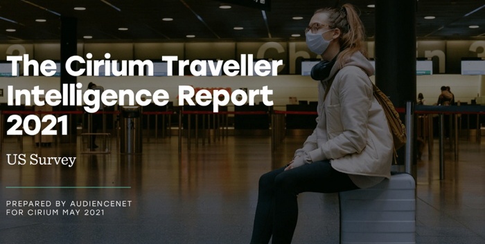 US Cirium Traveler Intelligence Report - Cover page