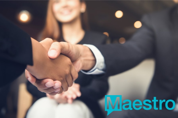 A handshake - Source Maestro PMS
