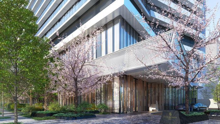 Rendering of the Four Seasons Hotel Osaka