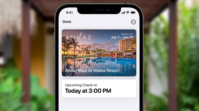 Apple Wallet on an iPhone (Screenshot courtesy of Apple)