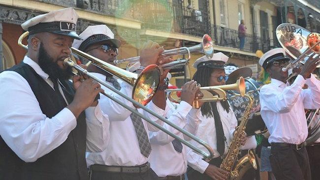 Street musicians in New Orleans - Source IHG
