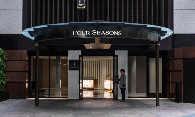 Four Seasons Hotel San Francisco at Embarcadero - Entrance