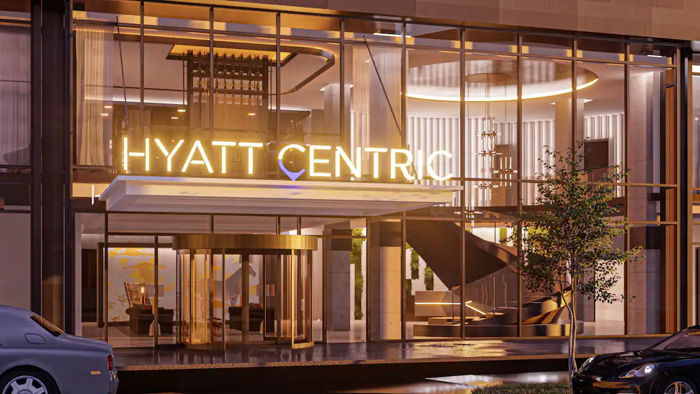A Hyatt Centric Hotel entrance