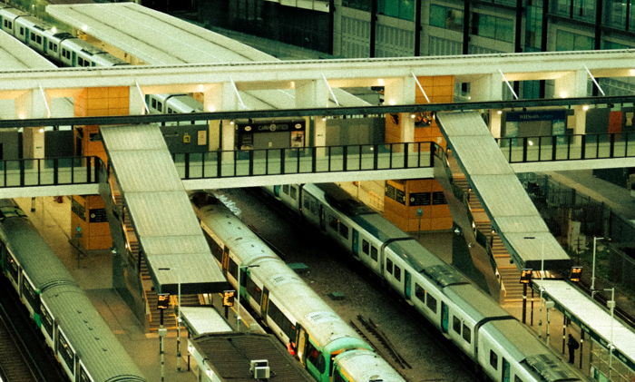 A railway station in Croydon, UK - Unsplash