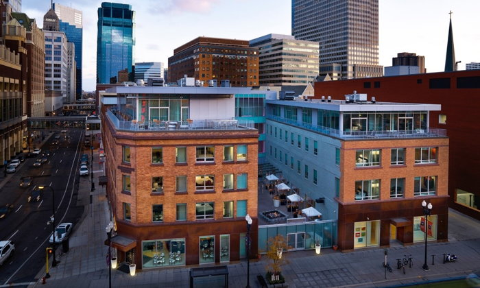 The Chambers Hotel in downtown Minneapolis - Exterior