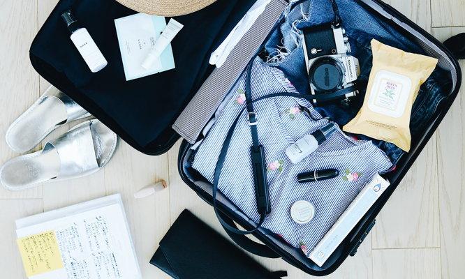A suitcase on a floor - Unsplash