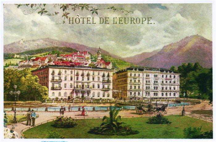 Postcard of the Europ