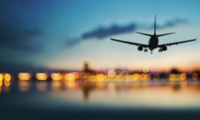 An airplane landing - Source HSMAI