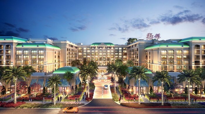 Rendering of the The Westin Anaheim Resort