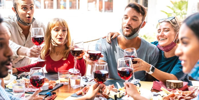 A group of people in a restaurant - Source National Restaurant Association