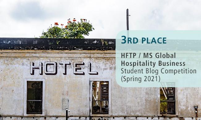 HFTP Blog Competition winner poster