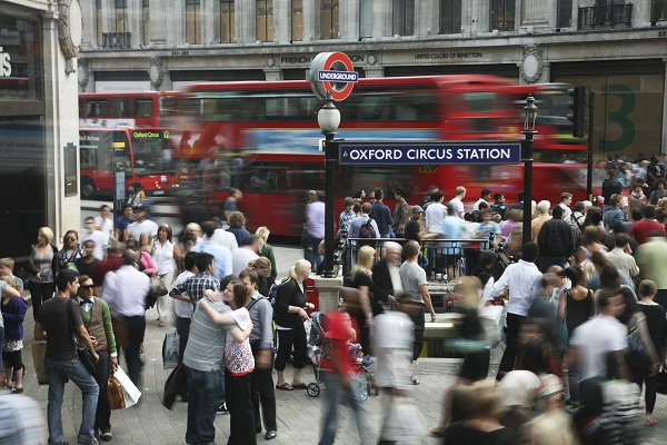Oxford Circus in London - Source WTTC