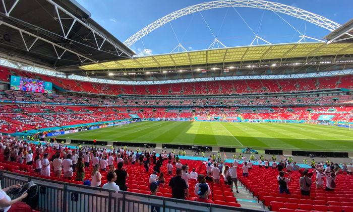 Opening of EURO2020 games at Wembley Stadium - Unsplash @thedolapo