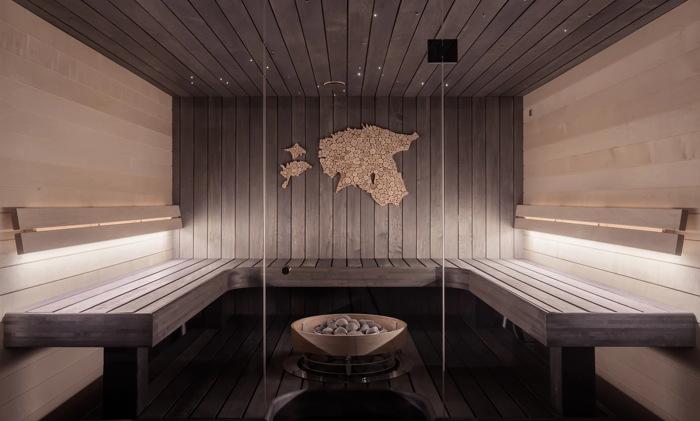 A sauna - Unsplash @huumsauna