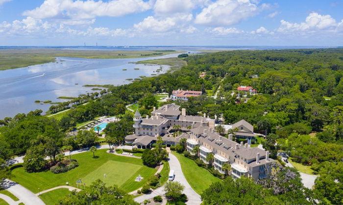 Jekyll Island Club Resort - Aerial view