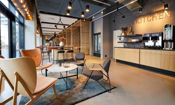 A Zleep Hotel restaurant/lounge