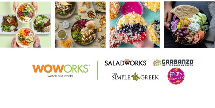WOWorks Restaurant Brands logos