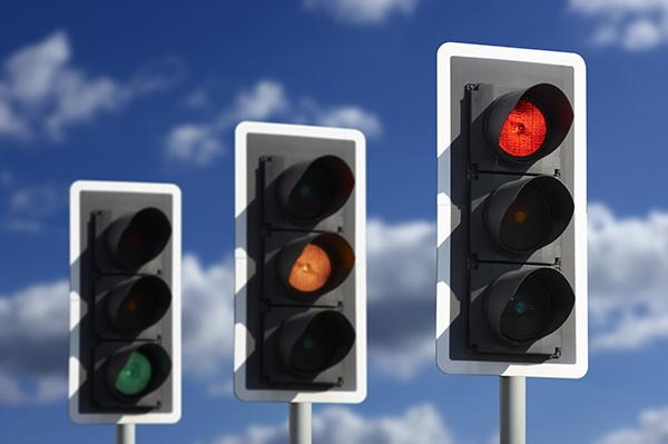 Three traffic lights - Source WTTC