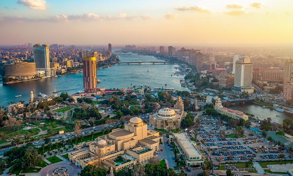Aerial view of Cairo - Source WTTC