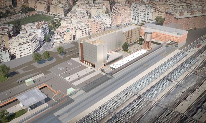 Rendering of the IntercityHotel Rome Tiburtina