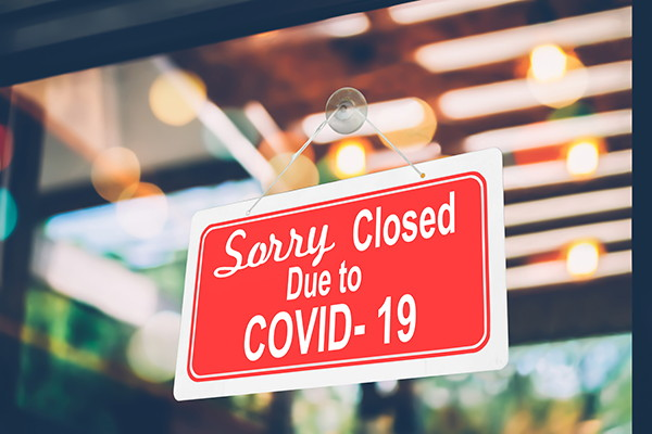 A 'Closed' sign - Source WTTC