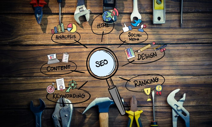 Graphic - SEO concept - Source STAAH