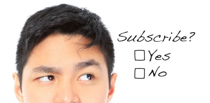 Graphic - Subscribe concept - Source TravelBoom Marketing