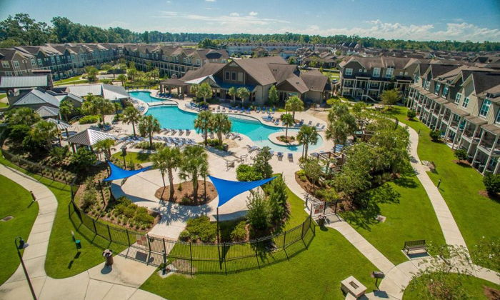 Ascott Residence Trust student accommodation complex in Texas
