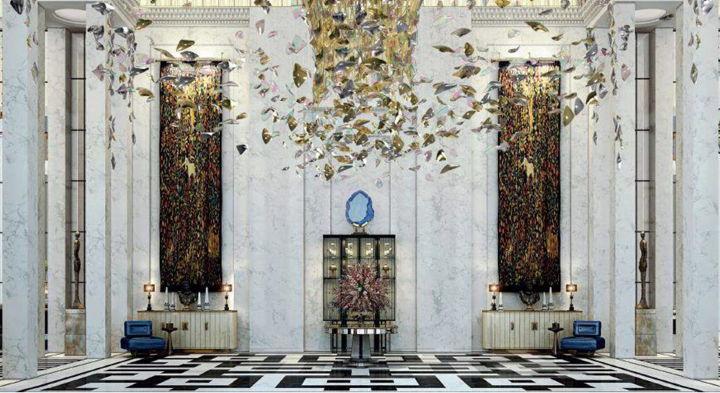 The Langham Jakarta Hotel - Lobby