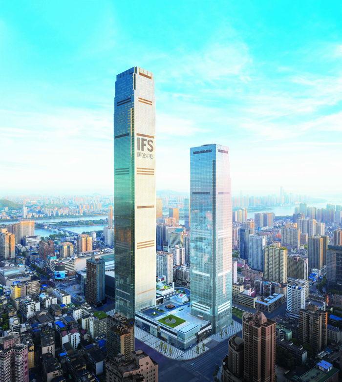 Rendering of the Park Hyatt Changsha Hotel