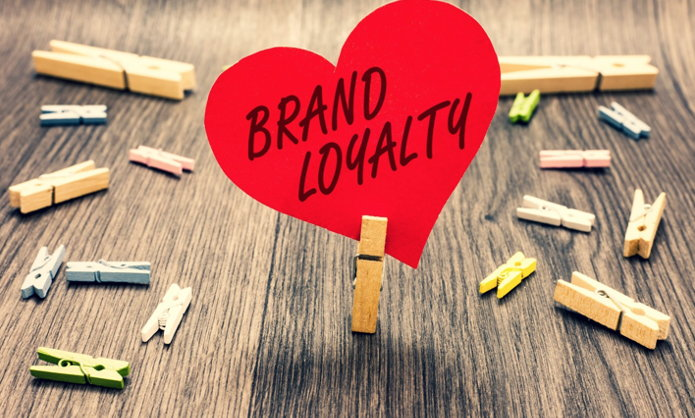 A paperheart with the words 'Brand Loyalty' - Source Travel Outlook